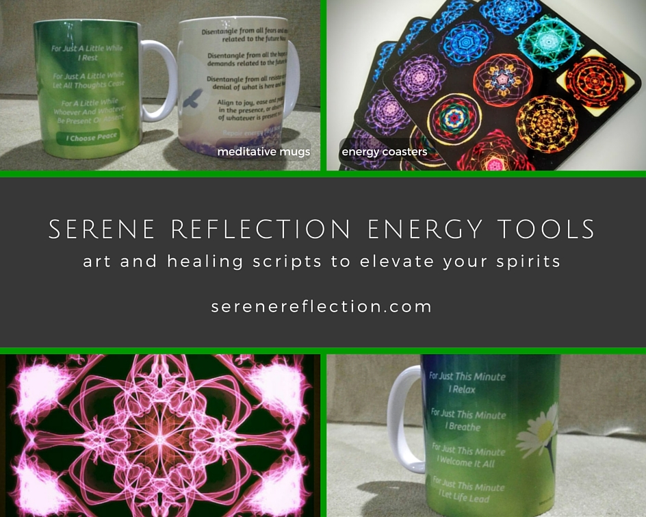 Meditation Mugs, Energy Coasters and more...